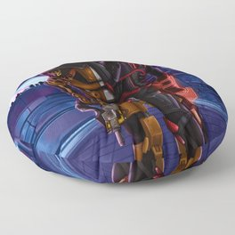 Mass Effect - A meeting in Purgatory Floor Pillow