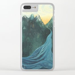 Make Your Mark Clear iPhone Case