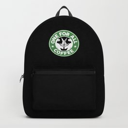 One For All Coffee Backpack
