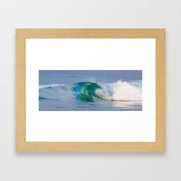 Ocean Motion Framed Art Print