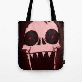 Screaming Wraith Skull Tote Bag