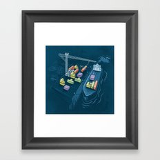Game Port Framed Art Print