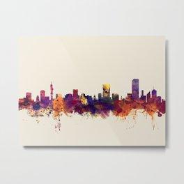 Pretoria South Africa Skyline Metal Print