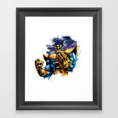Thanos Framed Art Print
