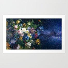 Interstellar master Floral Art Print