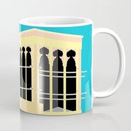 Wind-towers of Bastakiya by Dubai Doodles 008 Coffee Mug