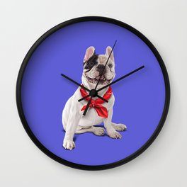 Frenchie (Colour) Wall Clock