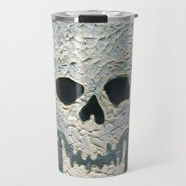 Large Skull Painting Travel Mug