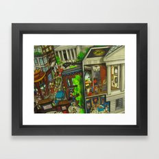 Gallery Place - DC 2011 Framed Art Print