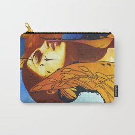 High Collar Pouch Carry-All Pouch