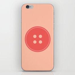 #63 Button iPhone Skin