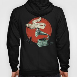 The Cat and the Cat Song (red) Hoody