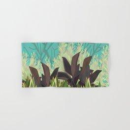 Tropical Desert Illustration  Hand & Bath Towel