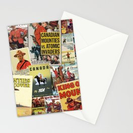 Mounties Stationery Cards
