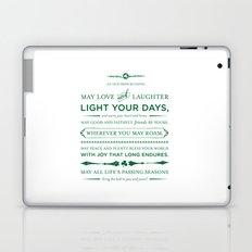 Irish Blessing Laptop & iPad Skin