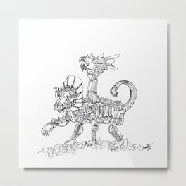 Chimera City Metal Print