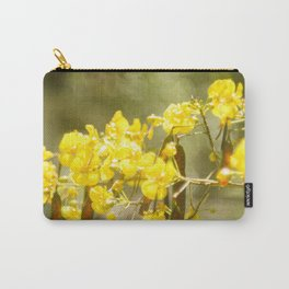 Popcorn Flower Bokeh Delight Variation Carry-All Pouch