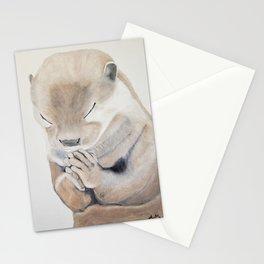 Praying Otter Stationery Cards