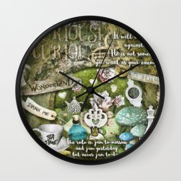 White Queen Wall Clock