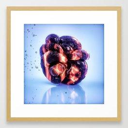 VIVID Lambda Framed Art Print