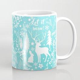 Let it snow! Christmas illustration Coffee Mug
