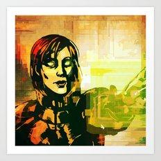Mass Effect - Overlord Art Print