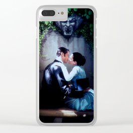 Love never dies Clear iPhone Case