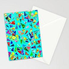 Triangle Mania Stationery Cards