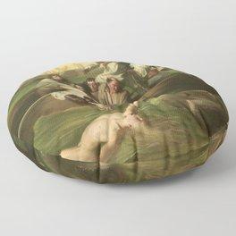 Classical Masterpiece 'Watson and the Shark' by John Singleton Copley Floor Pillow