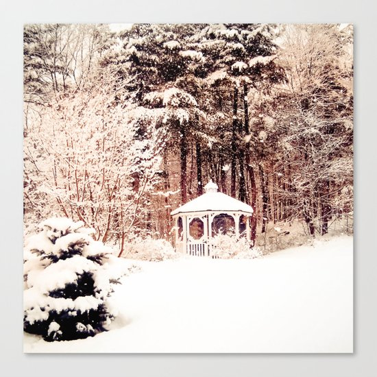 SnowEnchanted Canvas Print