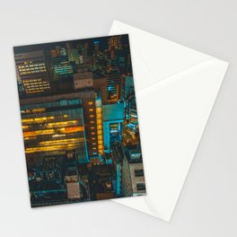 Midnight in Tokyo Stationery Cards
