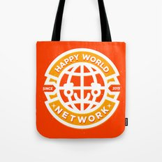 HAPPY WORLD NEWS NETWORK Tote Bag