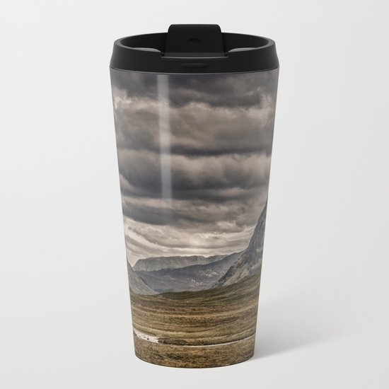 Anybody Out There? Metal Travel Mug
