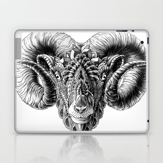 Ram Head Laptop & iPad Skin