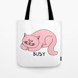 Busy Tote Bag