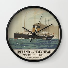 Vintage poster - Ireland Wall Clock