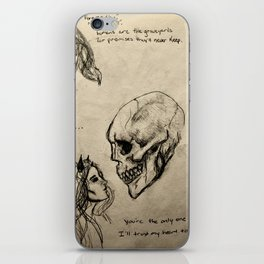 The Only Certainty pt II iPhone Skin