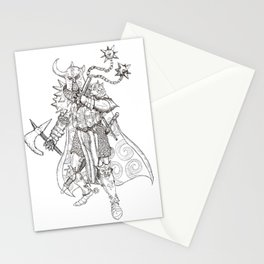Chaos Knight Stationery Cards
