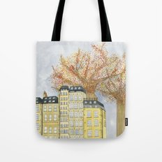 Where Do You Live Tote Bag