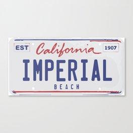 Imperial Beach. Canvas Print
