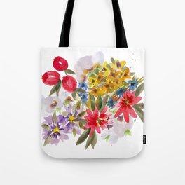 Farmers Market Bouquet 1 Tote Bag