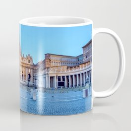 St. Peter's Square in Vatican City - Rome, Italy Coffee Mug