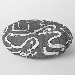 All night long Floor Pillow
