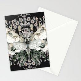 Garden Magic Black Stationery Cards