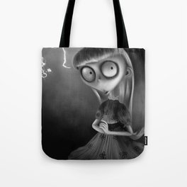 Weird Girl Tote Bag