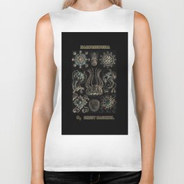 """""""Narcomedusia"""" from """"Art Forms of Nature"""" by Ernst Haeckel Biker Tank"""
