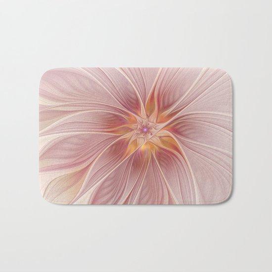 Soft Summer Dream, Fantasy Flower Bath Mat