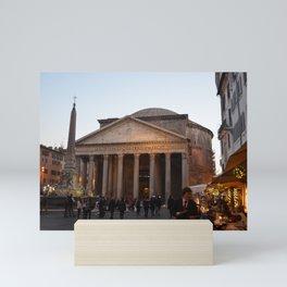 the pantheon Mini Art Print