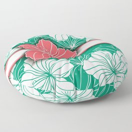 Floral background Floor Pillow