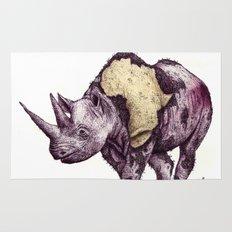 rhino Rug